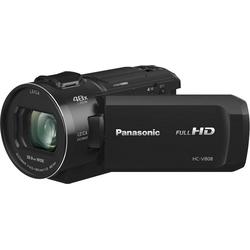 Lumix Panasonic HC-V808EG-K Camcorder (Full HD, WLAN (Wi-Fi), 24x opt. Zoom)