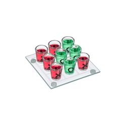 relaxdays Spiel, Tic Tac Toe Trinkspiel