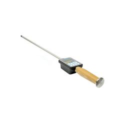 PCE Instruments Feuchtigkeitsmesser PCE Feuchtemessgerät Temperaturmessgerät für Heu und Stroh PCE-HMM 50