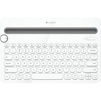 Logitech K480 Bluetooth Multi-Device Keyboard DE weiß (920-006351)
