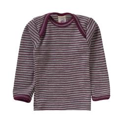 Engel Unterhemd Baby Unterhemd für Jungen Wolle/Seide lila 62/68