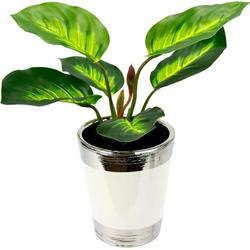 Kunstpflanze Pothospflanze im Topf Pothospflanze, Höhe 34 cm