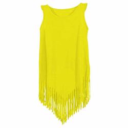 Kids` Pocahontas Shirt | nath yellow-fluor 3/4 Jahre
