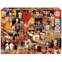 Educa - Bier Vintage Schilder 1000 Teile Puzzle