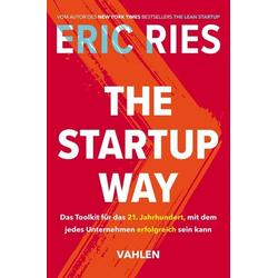 The Startup Way als Buch von Eric Ries
