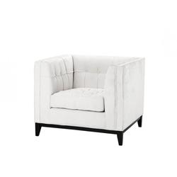 Casa Padrino Luxus Designer Hotel Sessel Weiß - Luxus Sessel