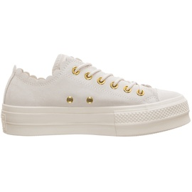 Converse Chuck Taylor All Star Frilly Thrills Lift Low white, 41