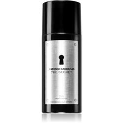 Antonio Banderas The Secret Deodorant Spray für Herren 150 ml