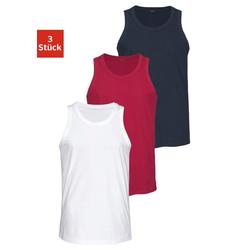Unterhemd (3 Stück), aus Baumwolle bunt 5/M