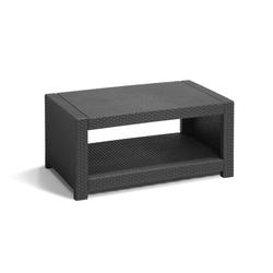 Allibert Gartentisch Monaco Tisch (1-St), 1x Tisch grau