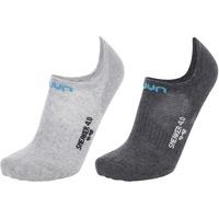 UYN Ghost 4.0 Socken anthracite mel/light grey mel 39/40