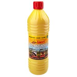 Favorit Öko-Zündpaste, Brennpaste mit kindersicherem Verschluss, 1 Liter – Flasche