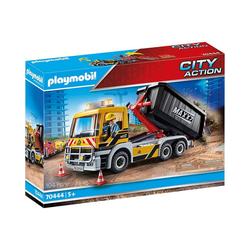 Playmobil® Spielfigur PLAYMOBIL® 70444 LKW mit Wechselaufbau