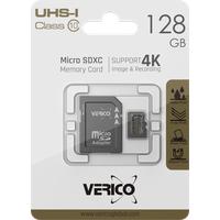 Verico 128GB microSD C10 UHS-1 Speicherkarte ( inkl. Adapter )