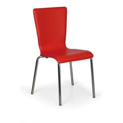 Esszimmerstühle caprio, rot, 4 stk.