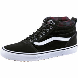Vans Ward Sneaker Herren in black-plaid, Größe 45 black-plaid 45