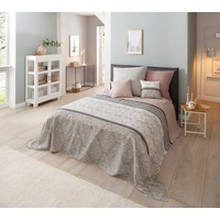 Home Affaire Home affaire, Tagesdecke Cremona, 140x210 cm (BxL), rosa