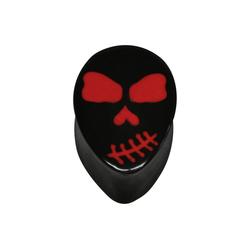 Wildcat Plug Plug Red Skull Teardrop 10 mm (Größe)