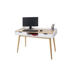MCW Schreibtisch MCW-A70, Inklusive Ablagefach und 2 Schubladen