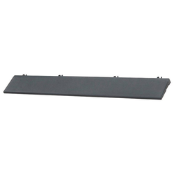Bergo Flooring Klickfliesen-Kantenleiste, für Kunststofffliesen in schwarz