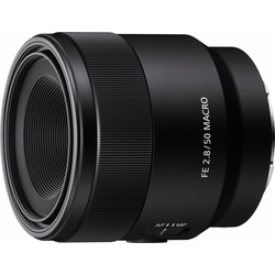 Sony SEL-50M28 E-Mount Vollformat Objektiv, (E 50mm F2.8, APS-C)