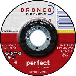 Dronco 3116040100 Trennscheibe gekröpft 1 Stück 115mm 22.23mm 1St.