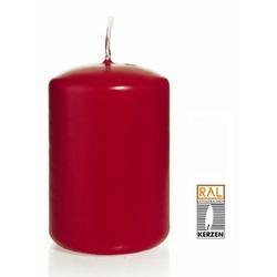 Kerzen Stumpenkerze Kleintray Kerzen Farbe rot 200X80mm 6 Stück