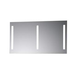 LebensWohnArt Wandspiegel KROLLMANN Badspiegel TABI 130x70cm