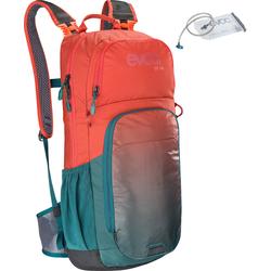 Evoc CC 16L Rucksack + 2L Trinkblase, rot-blau