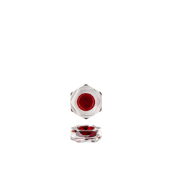 Rosenthal Teelichthalter Geschenkserie Stella Rot Tischlicht (1 Stück)
