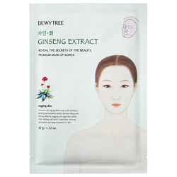 Dewytree Ginseng Extract Tuchmaske 32g