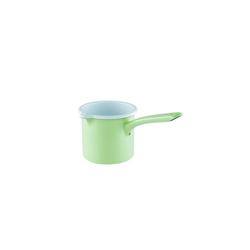 Riess Milchtopf Schnabeltopf mit Stiel 10 cm GREEN, Premium Email, (1-tlg), Schnabeltopf