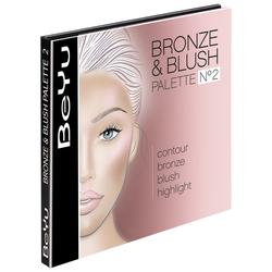 BeYu Nr. 2 - Bronze Babe Bronze + Blush Palette Puder