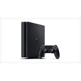 Sony PS4 Slim 500GB schwarz + FIFA 19 (Bundle)