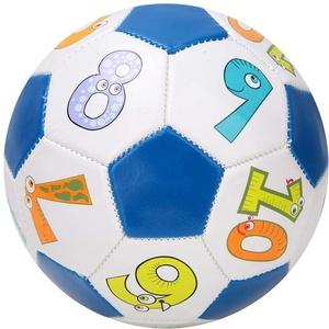 oueaen Kinder Fußball Ball kleine Sportball Kleinkinder Freizeitball für drinnen und draußen Ball für Mädchen und Jungen 13cm(Zahlenball)