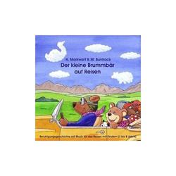 Der kleine Brummbär auf Reisen. CD als Hörbuch CD von Hildegard Markwart