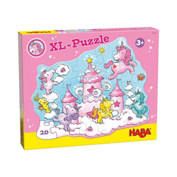 Haba Puzzle HABA 305467 XL-Puzzle Einhorn Glitzerglück, Puzzleteile
