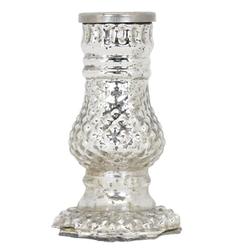 matches21 HOME & HOBBY Kerzenständer Kerzenhalter Deko Shabby Vintage verziert 11 cm