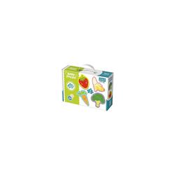 Trefl Puzzle Baby Puzzle - Früchte (4 x 2 Teile), Puzzleteile