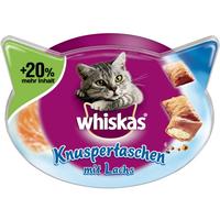 Whiskas Knuspertaschen mit Lachs 72 g