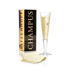Ritzenhoff Champagnerglas Ritzenhoff Champus Champagnerglas von Shari Warren, Glas