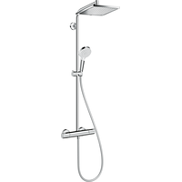 HANSGROHE Crometta E Showerpipe 240 1jet EcoSmart chrom 27281000