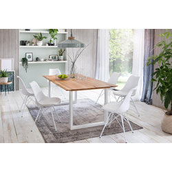 Premium collection by Home affaire Esstisch Montreal beige Holz-Esstische Holztische Tische Tisch