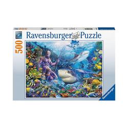 Ravensburger Puzzle Puzzle Herrscher der Meere, 500 Teile, Puzzleteile