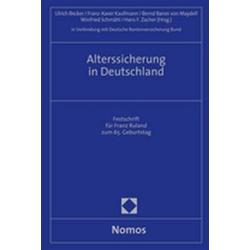 Alterssicherung in Deutschland: Buch von Deutsche Rentenversicherung Bund