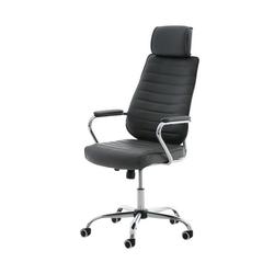 CLP Schreibtischstuhl Rako mit Wippmechanismus und Leichtlaufrollen grau
