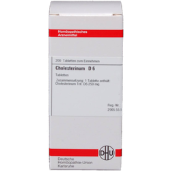 CHOLESTERINUM D 6 Tabletten 200 St