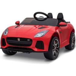 HOMCOM Kinder Elektroauto Jaguar rot 110 x 65 x 48 cm (LxBxH)   Jaguar Kinderauto Kinderfahrzeug Kinderwagen