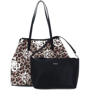 Guess Damen Vikky Large Tote Bag, Leopard Multi, Size One