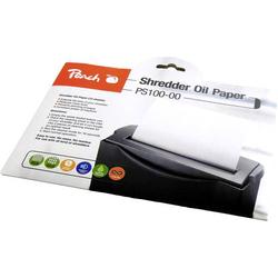 Peach PS100-00 Öl-Blätter für Aktenvernichter 12 Blatt